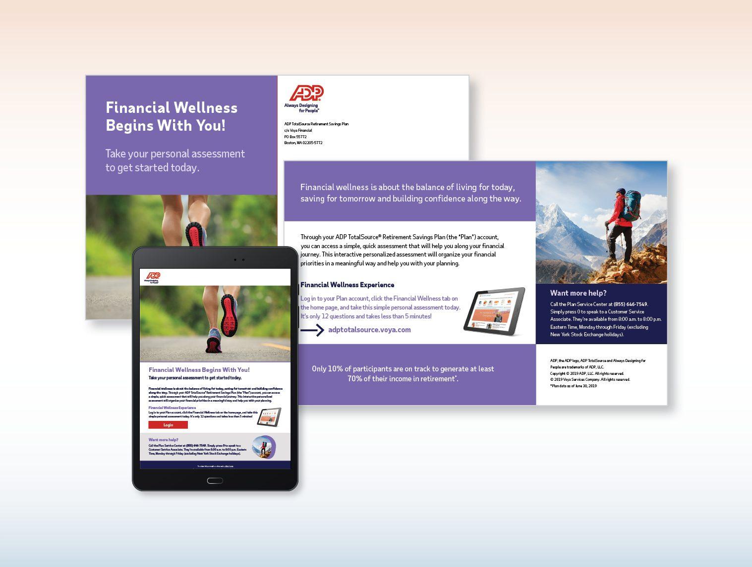 Financial Wellness Postcard