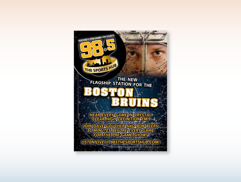 Sports Hub Bruins Ad