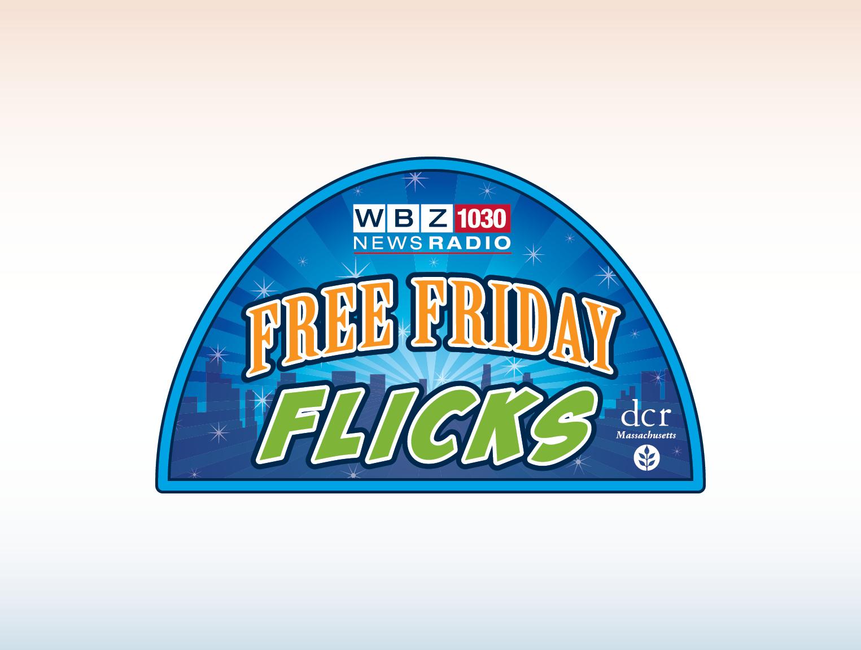 WBZ Free Friday Flicks Logo