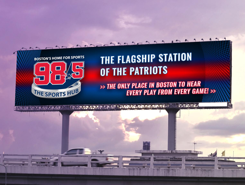 98.5 The Sports Hub Billboard