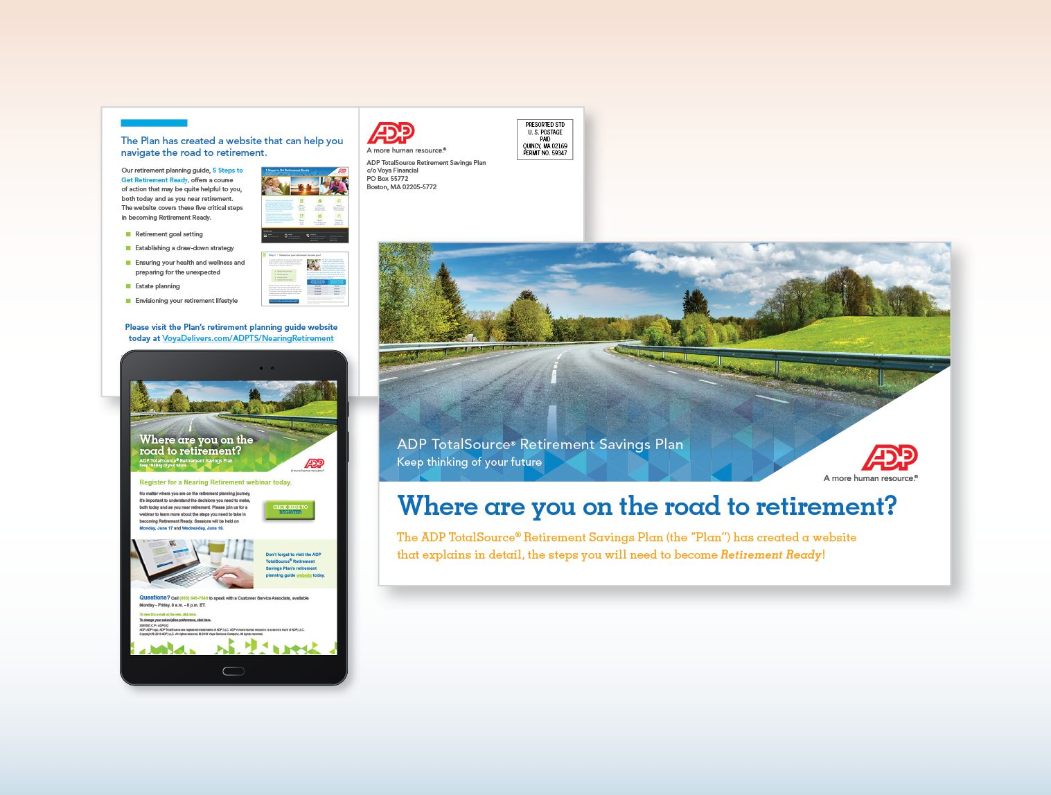 ADP nearing retirement