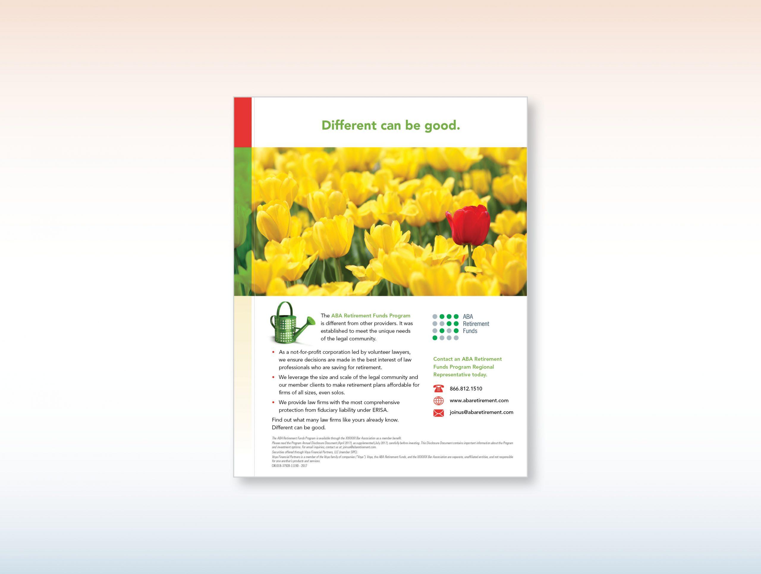 ABA Tulips Ad